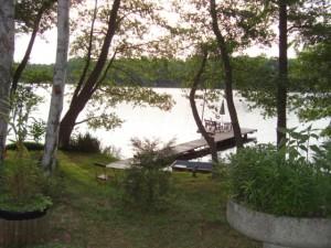 Ferien am See - Blick auf den See