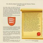 """""""700 Jahre Prieros""""-Festschrift Beispielseite"""