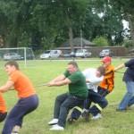 Heideseesportfest - Tau ziehen